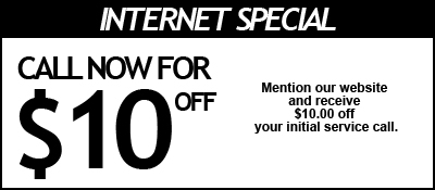Internet Coupon for Plumbing Services in Beaufort SC